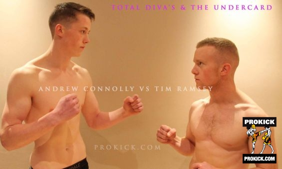 Andrew Connolly faced Tim Ramsey at Total Diva's
