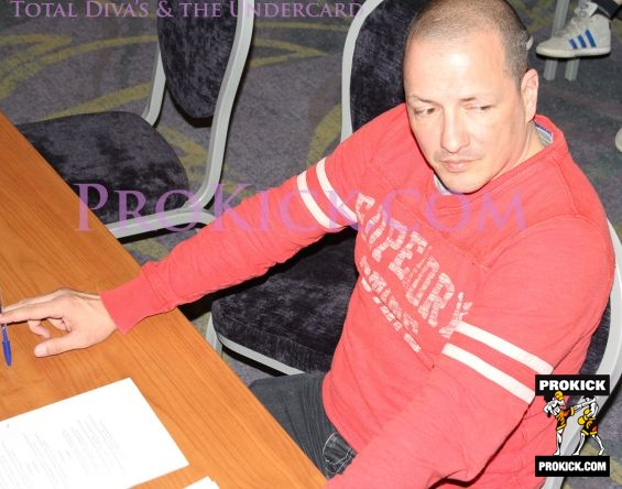Carl Emery Switzerland judging at Total Diva's and the Undercard