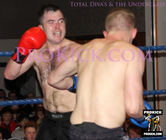 David Malcom fight action