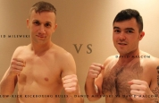 Dawid Milewski squares off with David Malcom