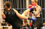 Mallaury Lands high-kick