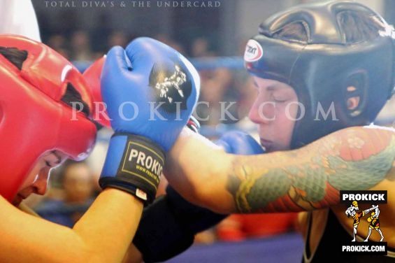 Ruth McCormack fight action