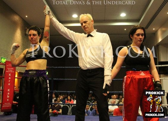 Ruth McCormack wins fight