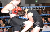Samantha knee strike