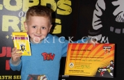 Callum warnock new prokick yellow belt