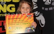 Kari forster new prokick yellow belt