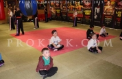 Kickboxing kids ready for grading