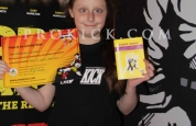Leah mccartney new prokick yellow belt