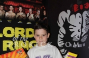 Reece brown new prokick yellow belt