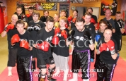 Kickboxing week1 level 2 sparring course