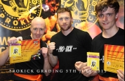 Johnny Smith with ProKick's new Green Belts
