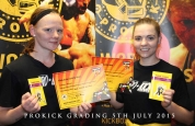 Sisters Suzanne and Charlene make the grade at ProKick