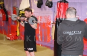Circuit training johnny Smith working for a good KICKmas