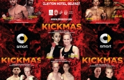 All fighters for KICKmas 2015