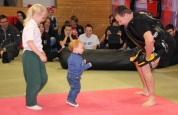 Boxing Kickboxing baby strikes again