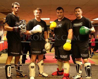Old Faces at ProKick Sparring Class