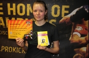 Clemence Albrecht yellow belt