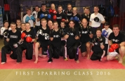 First sparring class 2016