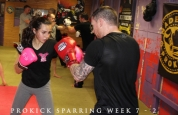 Kickboxing drills with Johnny Smith