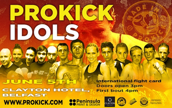 ProKick Idols Tickets here