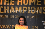 Kayleigh Armstrong yellow belt