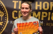 Helen Goudie yellow belt