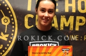 Natasha Carson orange belt