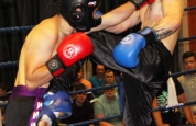 Kickboxing from the Clayton hotel Belfast