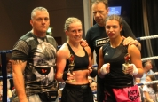 Fighters with coaches