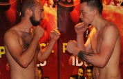 Weigh-in Donaghy-bell Vs Mariusz Chlebowshi