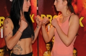 Weigh-ins Face off at the Clayton Hotel
