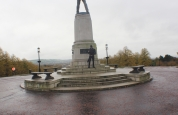 Batman at Stormont Monument