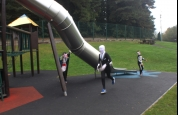 Fun at Stormont Swing Park