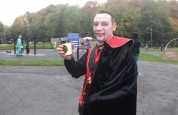 Dracula stops for a Coffee?