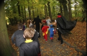Kids at Stormont Halloween Fun
