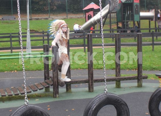 Indian at Stormont Swing Park