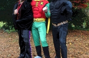 Dracula with Batman n Robin