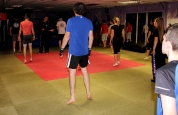 Getting Ready for kickboxing grading