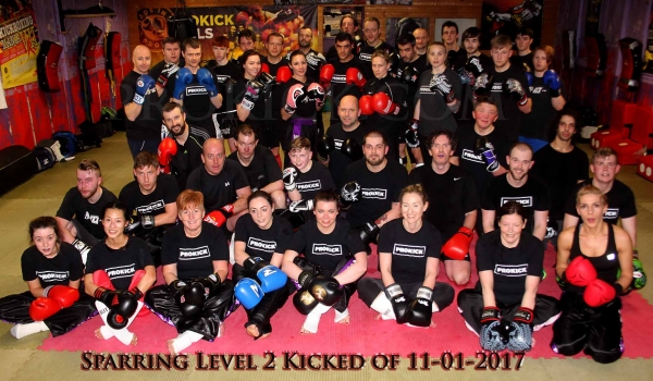 All New Level 2 kicked off 11th Jan 2017