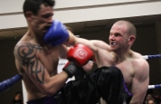 Cathal lands a right hand