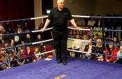 Referee Bob Hunter