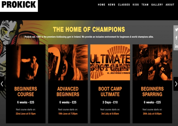 TONIGHT we will launch our New ProKick.com web-site