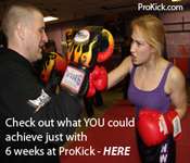 Check out what YOU could achieve with just six weeks at ProKick Gym HERE